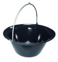 Gulaschkessel schwarz
