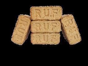 RUF Holzbriketts Premium (10 kg; Oberpfalz)