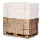 RUF-Briketts eckig - reine Buche - auf Halbpalette (480 kg)
