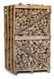 Brennholz Buche in 1,7 RM Einwegkiste