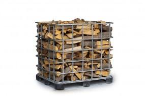 Brennholz Buche/Esche Mix in Gitterbox (je 1,2 SRM)