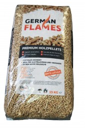 German Flames Pellets 15 kg Sack
