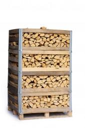2 RM Brennholz Buche in Mehrwegkiste (trocken)