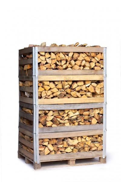 Brennholz Birke (je 2 RM; 25cm) in Mehrwegkiste