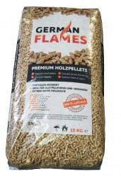 German Flames Pellets (Halbpalette 33 Sack, 495 kg)