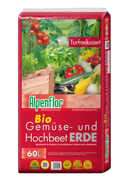 ALPENFLOR GEMÜSE- UND HOCHBEETERDE (Palettenpreis)