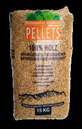 Premium Pellets (100% Holz aus Bayern; 495 kg)